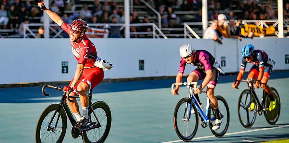 Australian Track Star Stephen Hall Gets PEZ'd!
