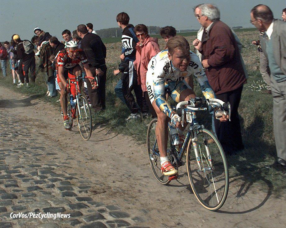 Henk Vogels en Marc Wauters, foto Cor Vos©1997