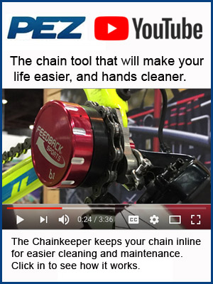 PezCycling looks at the Feedback Sports Chainkeeper