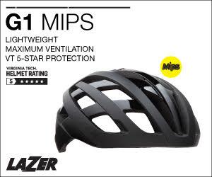 Lazer helmets G1 banner