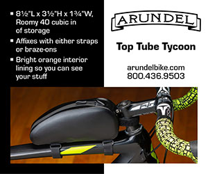 Arundel Bike Toptube Tycoon banner